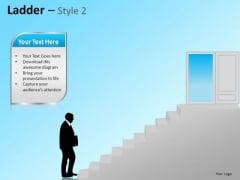 PowerPoint Templates Business Strategy Ladder Ppt Themes