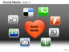 PowerPoint Templates Business Strategy Social Media Ppt Themes
