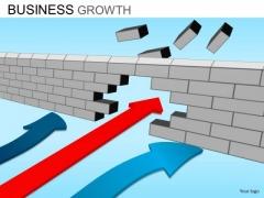 PowerPoint Templates Business Success Business Growth Ppt Design