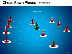 PowerPoint Templates Business Success Chess Pawn Ppt Slide Designs