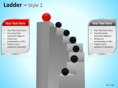 PowerPoint Templates Business Teamwork Ladder Ppt Themes