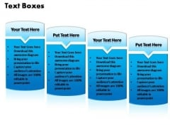 PowerPoint Templates Business Text Boxes Ppt Process