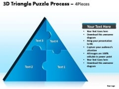 PowerPoint Templates Business Triangle Puzzle Ppt Designs