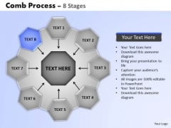 PowerPoint Templates Business Wheel And Spoke Process Ppt Presentation Designs