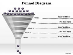 PowerPoint Templates Chart Funnel Diagram Ppt Backgrounds