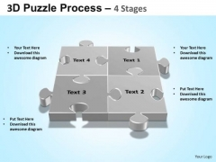 PowerPoint Templates Chart Puzzle Process Ppt Designs