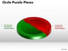 PowerPoint Templates Circle Puzzle Diagram Growth Ppt Template