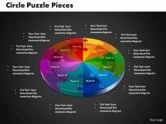 PowerPoint Templates Circle Puzzle Marketing Ppt Slides