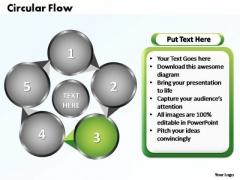 PowerPoint Templates Circular Flow Chart Ppt Design