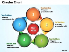 PowerPoint Templates Circular Flow Chart Ppt Themes