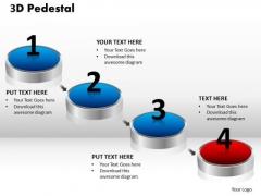 PowerPoint Templates Company 3d Pedestal Ppt Slides