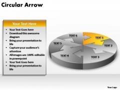 PowerPoint Templates Company Circular Arrow Ppt Themes