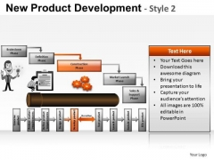 PowerPoint Templates Company Success New Product Development Ppt Templates