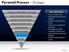 PowerPoint Templates Diagram Pyramid Ppt Process