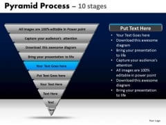 PowerPoint Templates Diagram Pyramid Process Ppt Backgrounds