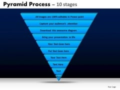 PowerPoint Templates Diagram Pyramid Process Ppt Layout