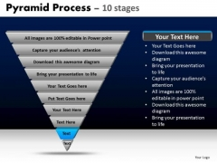 PowerPoint Templates Diagram Pyramid Process Ppt Presentation