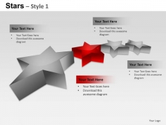 PowerPoint Templates Diagram Stars Ppt Themes