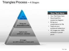 PowerPoint Templates Diagram Triangle Process Ppt Backgrounds