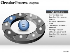 PowerPoint Templates Download Circular Process Ppt Slides