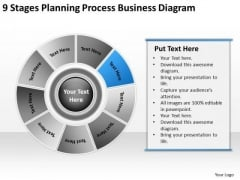 PowerPoint Templates Download Diagram Writing Business Plan