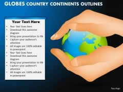 PowerPoint Templates Download Globes Country Ppt Themes