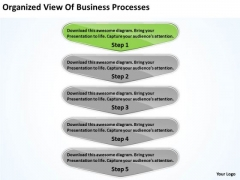 PowerPoint Templates Download Processes Business Continuity Plan Slides