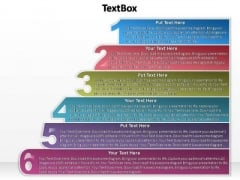 PowerPoint Templates Education Textbox 6 Ppt Process