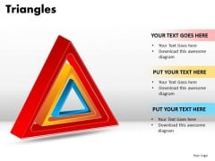 PowerPoint Templates Education Triangles Ppt Presentation
