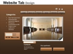 PowerPoint Templates Education Website Ppt Layout