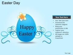 PowerPoint Templates Eggs Easter Day Ppt Template