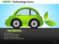PowerPoint Templates Electric Car Automobiles Ppt Slides