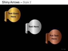 PowerPoint Templates Executive Designs Shiny Arrows 2 Ppt Templates