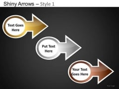 PowerPoint Templates Executive Growth Shiny Arrows Ppt Designs