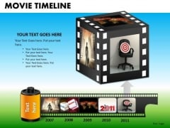 PowerPoint Templates Executive Leadership Movie Timeline Ppt Designs