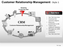 PowerPoint Templates Executive Strategy Customer Relationship Management Ppt Themes