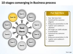 PowerPoint Templates Free Download Process Circular Flow Diagram