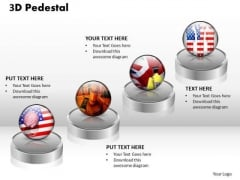 PowerPoint Templates Global 3d Pedestal Ppt Layouts