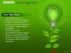 PowerPoint Templates Green Business Ideas Innovation Ppt Slides