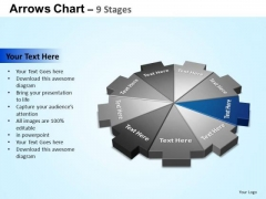 PowerPoint Templates Growth Arrows Chart Ppt Designs