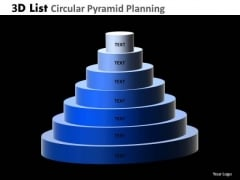 PowerPoint Templates Growth Circular Pyramid Ppt Design