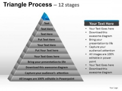 PowerPoint Templates Growth Triangle Process Ppt Presentation Designs