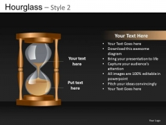 PowerPoint Templates Hourglass Concept Image