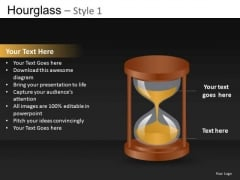 PowerPoint Templates Hourglass Diagrams