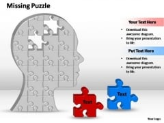 PowerPoint Templates Image 2 Missing Puzzle Pieces Ppt Designs