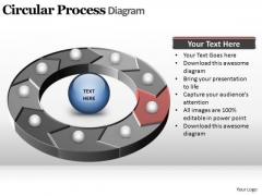PowerPoint Templates Image Circular Process Ppt Slide
