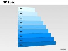 PowerPoint Templates List Success Ppt Slides