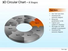 PowerPoint Templates Marketing Circular Chart Ppt Template