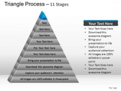 PowerPoint Templates Marketing Triangle Process Ppt Templates