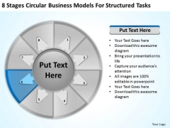 PowerPoint Templates Models For Structured Tasks Business Plan Basics Slides
